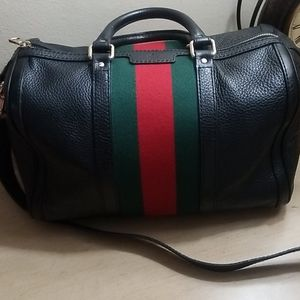 Authentic Gucci mini duffle purse